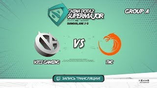 Vici Gaming vs TNC, Super Major, game 1 [Maelstorm]