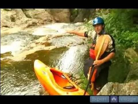 Creeking Safety When Kayaking : How To Scout A River Before Creeking