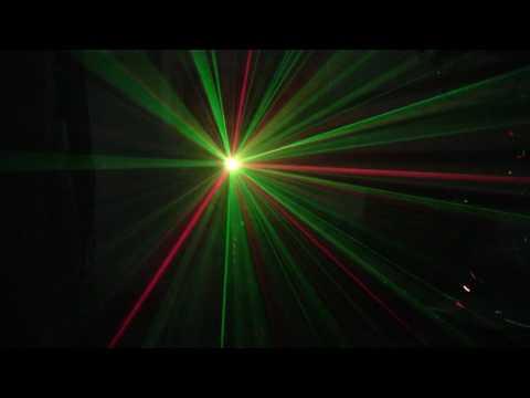Đèn Laser vòng thời gian trang trí phòng karaoke gia đình, phòng khách party