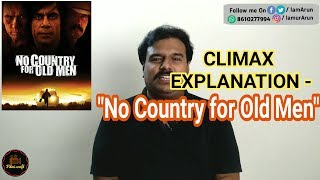 Climax Explanation - No Country for Old Men (2007)  in Tamil by Filmi craft