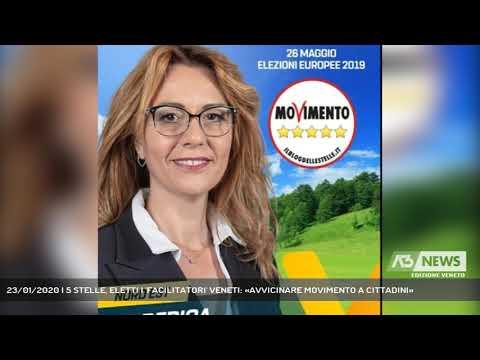 23/01/2020   5 STELLE, ELETTI I 'FACILITATORI' VENETI: «AVVICINARE MOVIMENTO A CITTADINI»