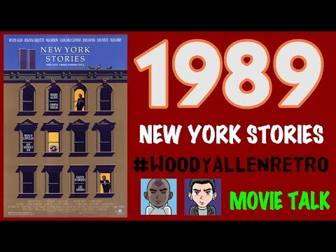 1989 - NEW YORK STORIES & 2017 FACEBOOK INTERVIEW *WoodyAllenRetro*