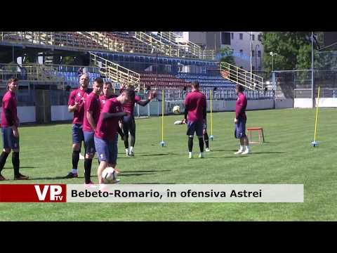 Bebeto-Romario, în ofensiva Astrei
