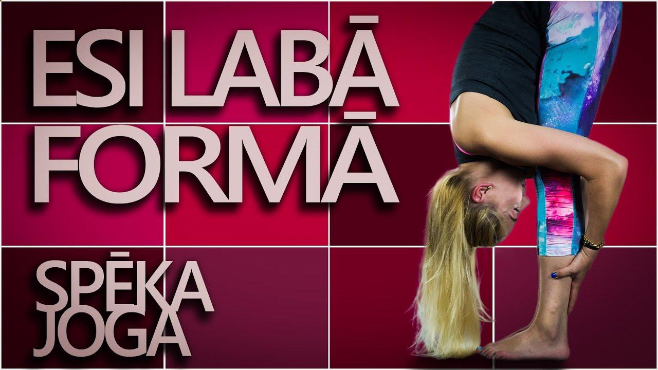 Fitness Joga: vingrojumu komplekss spēkam un izturībai