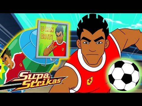 S6 E7 - Broken Record   SupaStrikas Soccer kids cartoons   Super Cool Football Animation   Anime