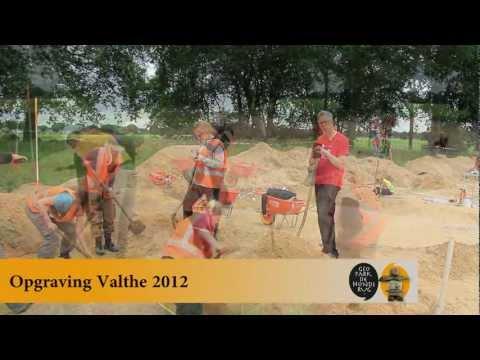 Opgraving Valthe - omgeving hunebedden