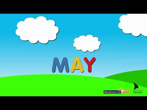 Blacktown City Libraries, Baby Rhyme Time online video – May