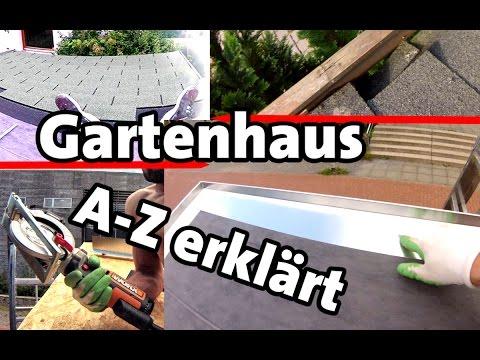 Dachdecken Anleitung | Ortgangblech | Dachschindeln | Easy Shingle Bitumen | Dachrinne