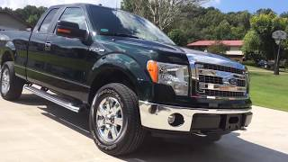2013 Ford F-150 Supercab 4WD XLT* For Sale On ebay. 1-Owner. Like New