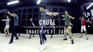 Video Cruel (Snakehips ft. Zayn) | Deo Choreography download in MP3, 3GP, MP4, WEBM, AVI, FLV Februari 2017
