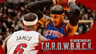 Throwback: Carmelo Anthony vs Lebron James Full Duel Highlights 2011.02.27 Knicks at Heat - SICK!