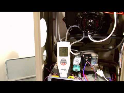 how to vent 80 efficient furnace