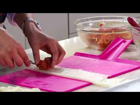 Choumicha: Briouates de viande hachée sucrées et s