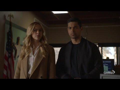 Torres and Bishop - NCIS 17X15 ( 5/9 )