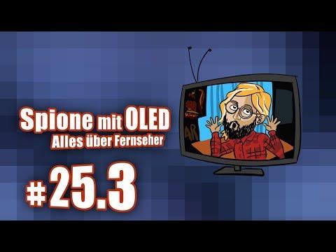 Spione mit OLED - alles über Fernseher | c't uplink 25.3