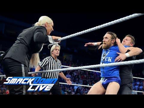 "Miz hosts ""Miz TV"" with special guest Maryse: SmackDown LIVE, Sept. 18, 2018"