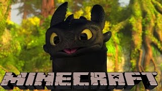 Minecraft Mods - HOW TO TRAIN YOUR DRAGON - Modded Minigame (Dragon Mounts Mod)  NEW DRAGONS