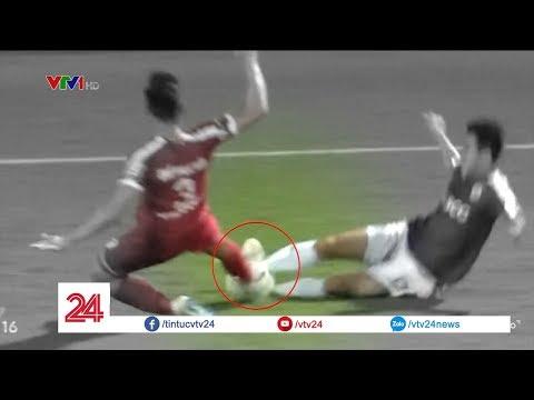 VFF đưa ra án phạt nặng với Quế Ngọc Hải vì pha phạm lỗi thô bạo với Văn Kiên | VTV24 - Thời lượng: 2:49.