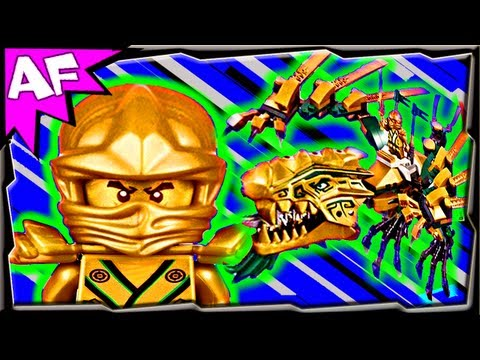 Vidéo LEGO Ninjago 70503 : Le dragon d'or