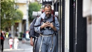 Franciscan Friars evangelize the streets of Spain