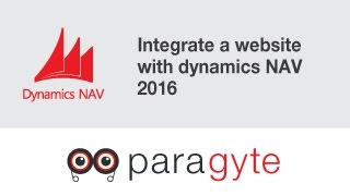 How to integrate a website with dynamics NAV 2016?