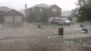 Wylie (TX) United States  City new picture : Hail storm in Wylie Texas April 11, 2016