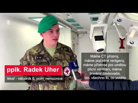 20 let v NATO: 6. a 7. polní nemocnice v Hradci Králové