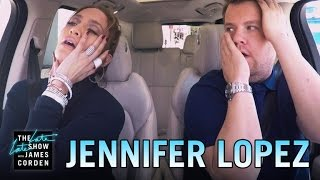 Jennifer Lopez Carpool Karaoke - YouTube
