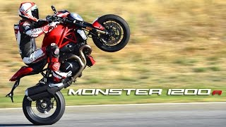 7. Ducati Monster 1200R 1st Ride - MotoGeo Review
