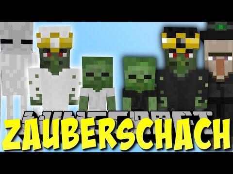 Minecraft SCHACH MOD mit MOBS!! (Zauberschach) [Deutsch]