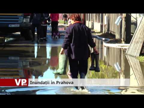 Inundații în Prahova