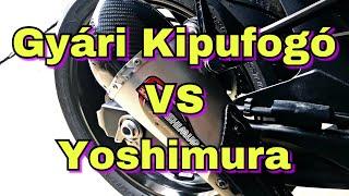 6. 2018 Suzuki GSX- S 750 Yoshimura Alpha- T Kipufogo�val