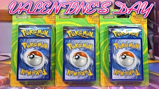 VALENTINE'S DAY SPECIAL OPENING 3x 2 PACK 1 EX BLISTERS OF POKEMON CARDS! by JordanJapanNintendoFan