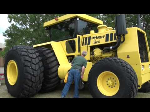 A 500 Horsepower Homemade Giant — The Story Behind The Honey Bee 2WD Tractor