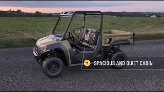 10. Cat® Utility Vehicle Overview