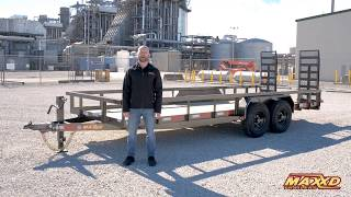 3. Heavy Duty Utility Trailer - U5X by Maxxd Trailers