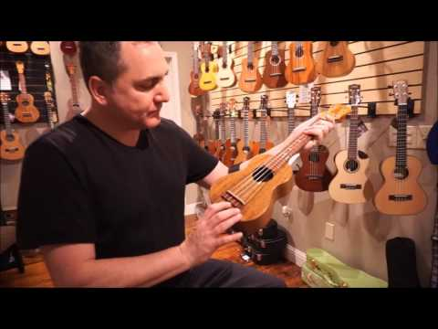 KoAloha KSO-02 Solid Acacia Super Soprano Ukulele Demo by UKE Republic