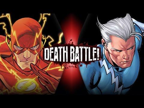 Flash VS Quicksilver   DEATH BATTLE! (видео)