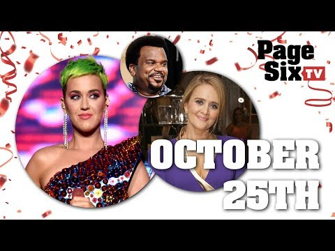 Happy birthday messages - Wishing Katy Perry a very happy October 25th birthday