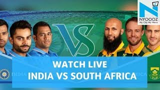 LIVE India vs South Africa 2018, 1st T20I Cricket Score | IndvsSA T20| NYOOOZ TV