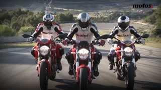 7. Ducati Monster 696 / 796 / 1100 EVO | Prueba Comparativa Naked / Review en español | motos.net