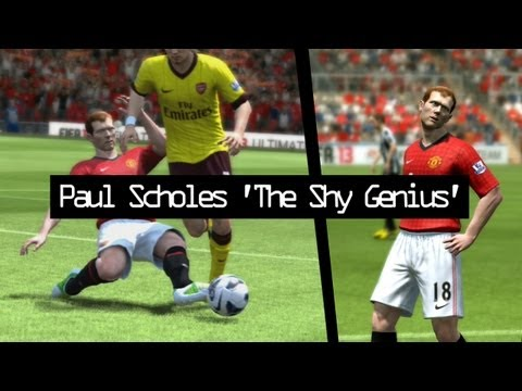 Paul Scholes 'The Shy Genius' (FIFA 13) - Short Tribute Video