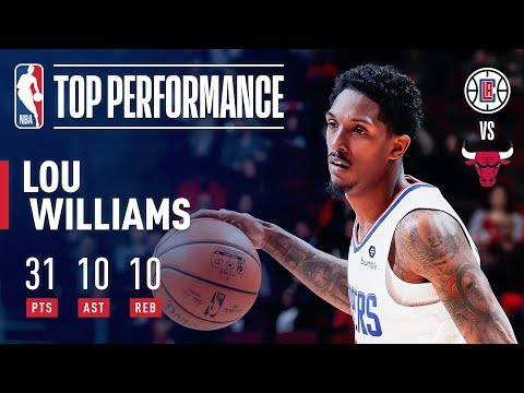 Video: Lou Williams Records FIRST Career Triple-Double | January 25, 2019