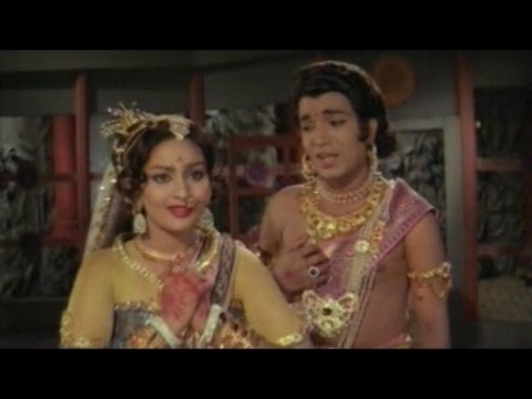 Sree Vinayaka Vijayamu Movie || Lord Vinayaka Teach Lesson to Mushikasura || Krishnam Raju. Vanisree