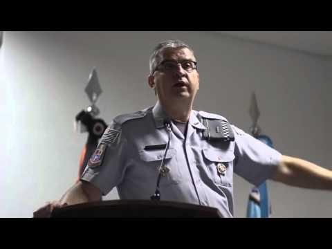 Encontro da Polícia Militar com líderes evangélicos da capital