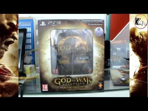Unboxing God Of War Ascension Collector Ps3 (Euro Version)