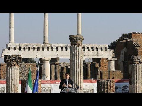 Ιταλία: Εγκαίνια για την «νέα» Πομπηία