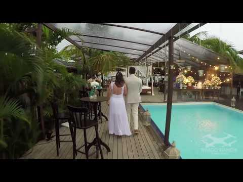 Clip de casamento feito só com Drone Praia de Maresia