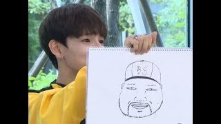 "On August 8, former ""Produce 101 Season 2"" contestant and solo artist Samuel Kim did a live interview with tbs and impressed everyone with his drawing skills.During the interview, he was asked to draw his agency's boss and well known producer, Brave Brothers. In his drawing, Samuel Kim perfectly highlighted the distinguishing features on his boss's face like his circular face shape, sharp eyes, and goatee.When asked how he would grade his own drawing, Samuel Kim gave his work 75 points out of 100 and said, ""Boss, you know that I love you right?""What do you think of his drawing?We are here bringing you the latest News Headlines Daily.Just for information, we do not actually create and/or make up these news, we are simply searching for the leading stories worldwide, and then we post them to keep you guys informed.You can think of us as a news search engine ;)(As you all know by now) the media isn't always trustworthy, so you need to make the decision by yourself if the news is true or just an hoax. Need we remind you what we said in the beginning, we are bringing headlines from leading news channels worldwide :)I strongly confirm that my product is of my own. The content is strictly served for the study, entertainment and education. All of them are within the law and fair for use, so I wish it will be not stolen by the others.-------------------------------------------------------------------------------------------------Also note that we do not own any of the pictures , the usual sources are DailyMail, REUTERS, AP, EPA, Getty Images etc.-------------------------------------------------------------------------------------------------For the recorded videos posted here, we aren't the ones who recorded them. Credit goes to all those who recorded those videos."