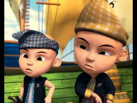 Upin & Ipin - Air Kolah, Air Laut (Bah. 2)